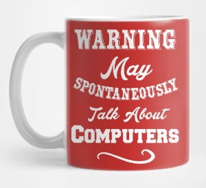 Funny Tech Mug
