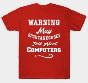 Funny Tech Shirt